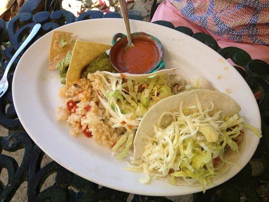 The Inn at Manzanillo Bay : Fish tacos