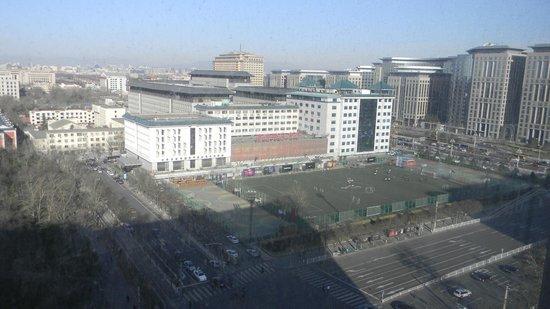 Inner Mongolia Grand Hotel: Вид из номера 11 этаж