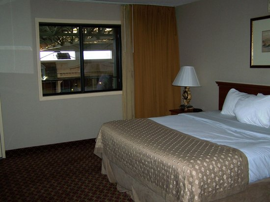 Ramada Topeka Downtown Hotel and Convention Center: King room with view of atrium