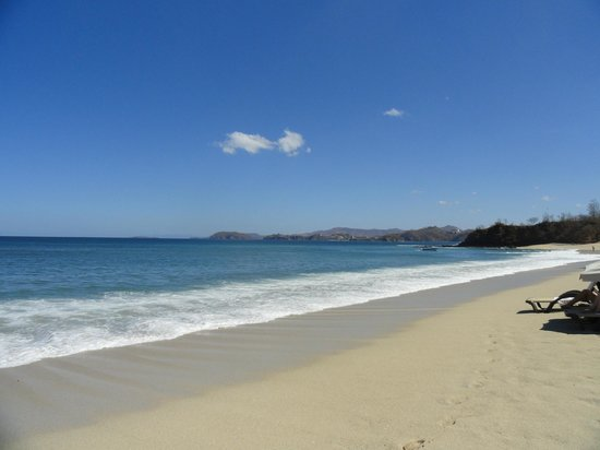 The Westin Golf Resort & Spa, Playa Conchal: View from the beach.