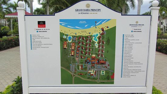 Luxury Bahia Principe Bouganville Don Pablo Collection : Map
