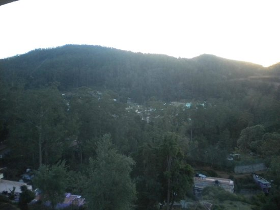 Gem Park-Ooty: valley view from room