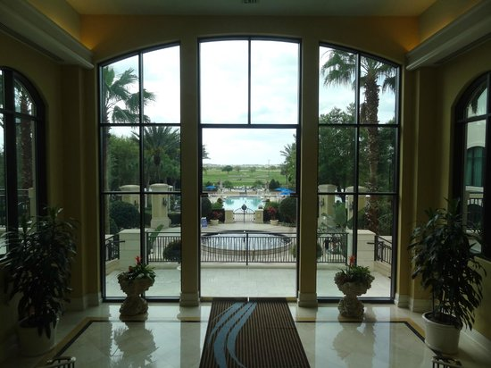 Omni Orlando Resort at Championsgate: View from the lobby.