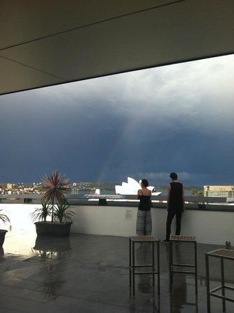 Sydney Harbour YHA: The roof!
