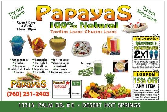Papayas 100% Natural: Papayas100 % natural@facebook