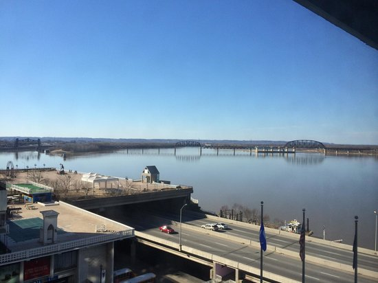 Galt House Hotel: View from the 8th floor.