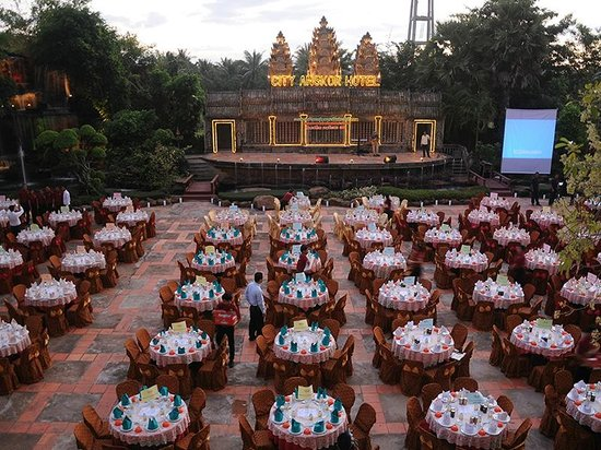 City Angkor Hotel: Angkor Terrace