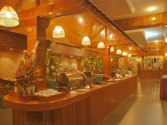 City Angkor Hotel: Buffet