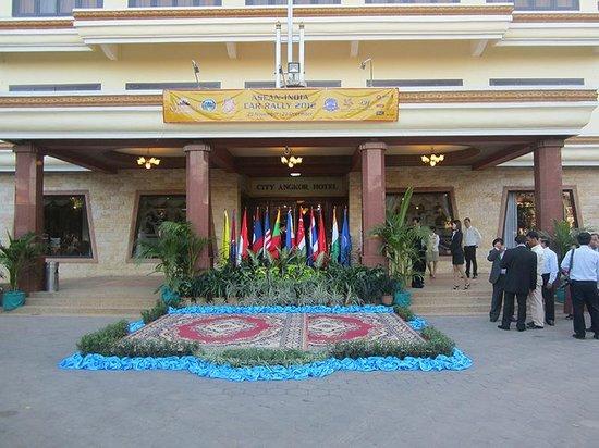 City Angkor Hotel: City Angkor Font