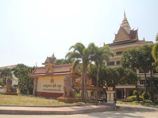 City Angkor Hotel: City Angkor Front