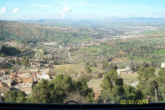 View from the 4th floor Ibis Constantine, Algeria