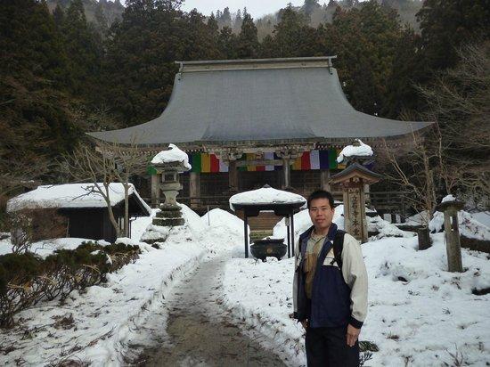 Yamadera Basho Memorial Hall : วัด Yamadera