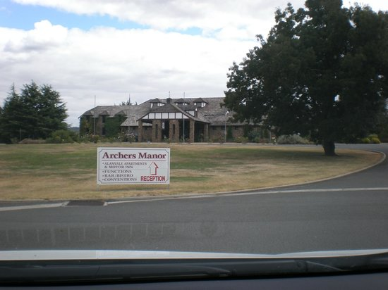 Alanvale Apartments & Motor Inn: View of Motor Inn from the front