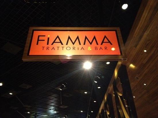 Fiamma Italian Kitchen: entryway
