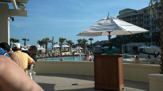Omni Amelia Island Plantation Resort: Just arrived! Drinks at the pool!