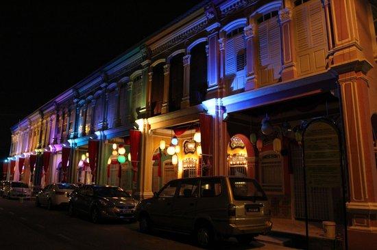 Sunway Hotel Georgetown Penang: Jalan Selangor at night
