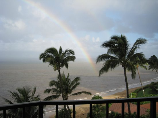 Valley Isle Resort: The rainbows put on such a show for you