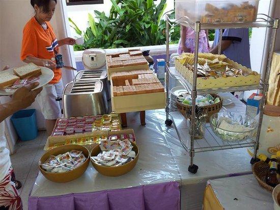 Mandawee Resort & Spa: อาหารเช้า