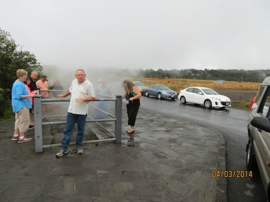 Marylou's Big Island Guided Tours - Private Tours: Steam vent at the volcanoes