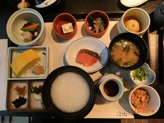 Hotel Granvia Kyoto: Japanese breakfast set