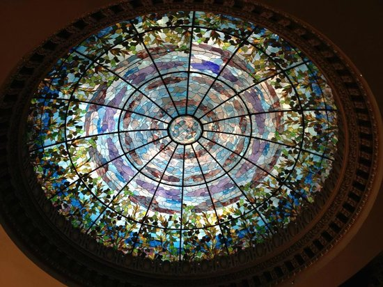 Camino Real El Paso: Tiffany Stained Glass Dome
