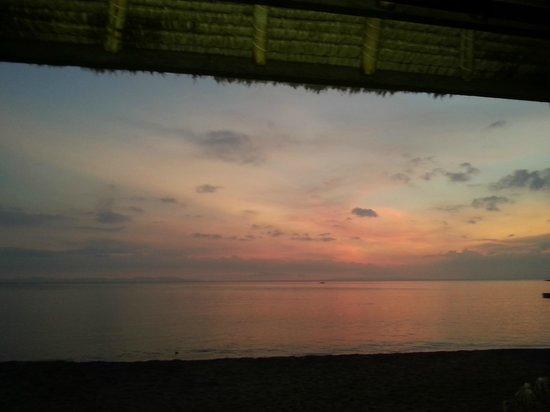 Sheraton Senggigi Beach Resort : Amazing sunset
