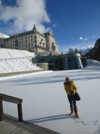 Grand Hotel Kronenhof: Grandioses Hotel mit tollem, sonnigen Wellnessbereich