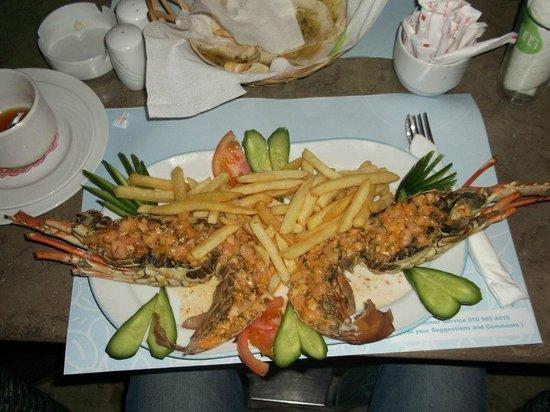 Na'ama Bay : Рыбный ресторанчик