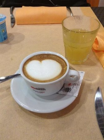 MiHotel: lovely capuccino