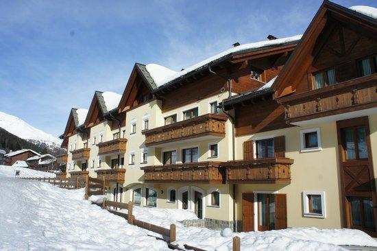 Hotel Residence 3 Signori : Вид на отель со стороны склона