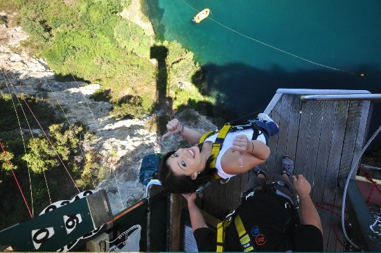 Taupo Bungy : Life on the edge
