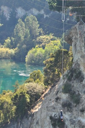 Taupo Bungy : My jump