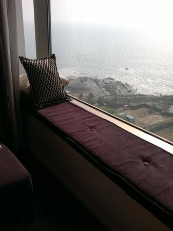 Taj Lands End : My favourite place in the room, where I spent a few hours