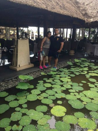 The Oberoi Bali : During Breakfast