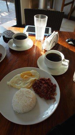 Coron Ecolodge: 早餐