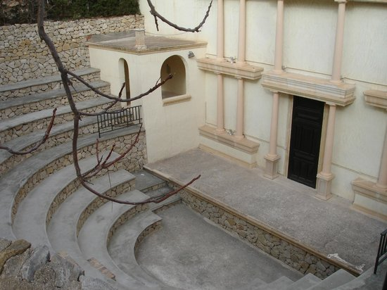 Pueblo Acantilado Suites: Kleines Amphitheater im Hotel