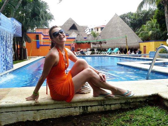 Real Playa del Carmen: Бассейнчик