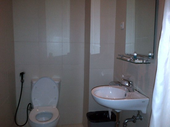 Royal Mamberamo Hotel: interior toilet