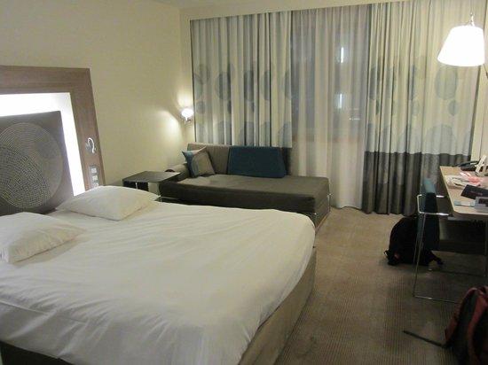 Novotel Brussels Centre: chambre 7ème étage