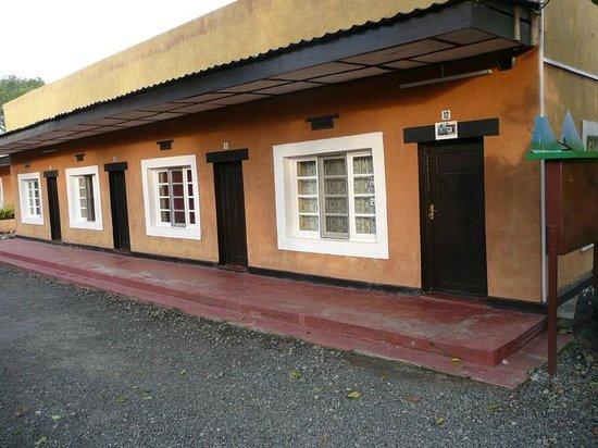 Hotel Muhabura: de oudere grote kamers