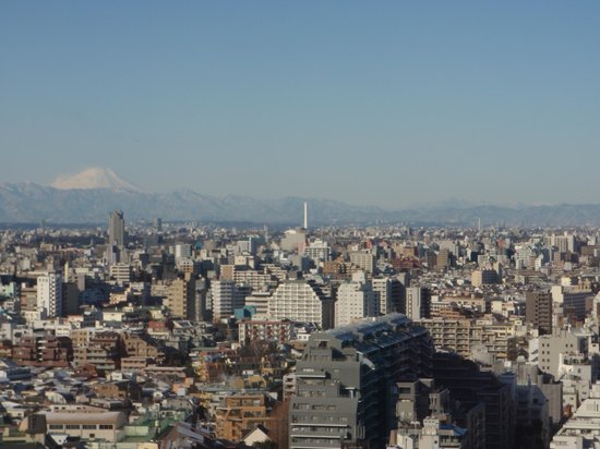 Hundred Stay Tokyo Shinjuku: View of Mount Fuji from 19th Floor