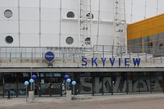 SkyView касса и вход