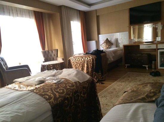 Elite Kasseria Hotel : Great suite room