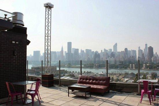 Z NYC Hotel : Vistas desde la terraza de la azotea