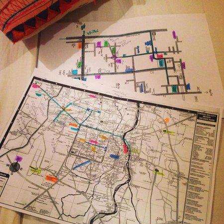 Banilah: map
