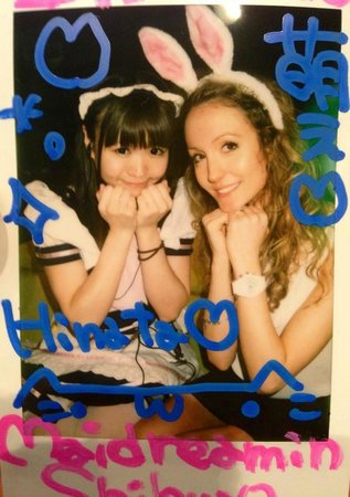 Maidreamin Akihabara The Head Store: Get a polaroid with one of the maids!