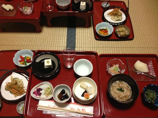 Koyasan Fudoin Temple : Amazing dinner!