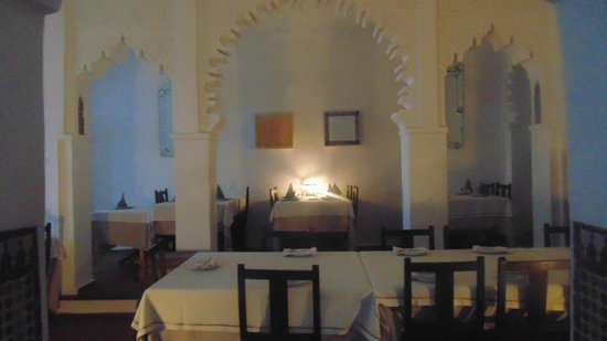 Blanco Riad Hotel & Restaurant : restaurante