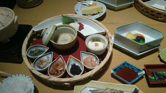 Izu Shuzenji Onsen Sora Togetsusou Kinryu: 朝食 沢山の小鉢
