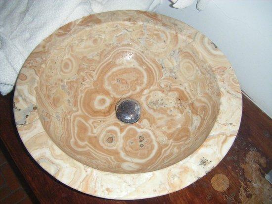 Blanco Riad Hotel & Restaurant : lavabo